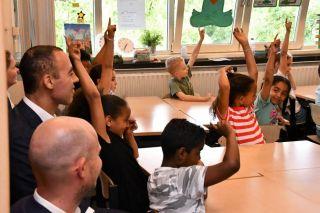 Wethouder van de gemeente Rotterdam zeer enthousiast over bezoek van 1 juli aan de Nicolaas!